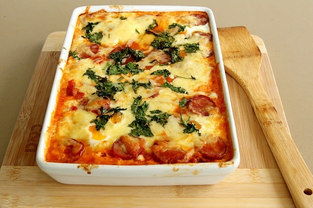 Lasagna is my favorite!
