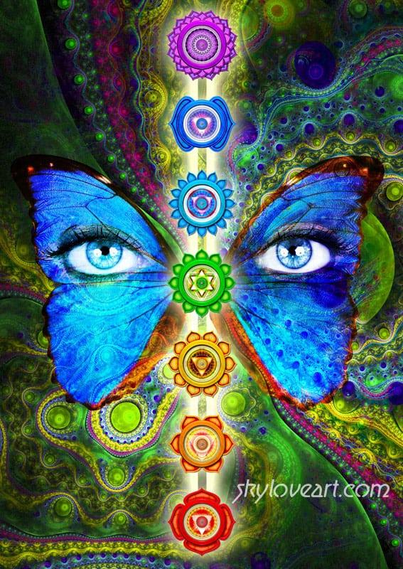 Chakra Card by Skyloveart.com