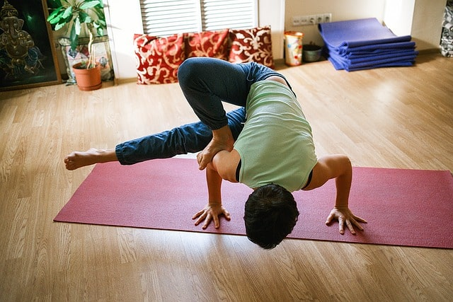 Yoga can help you feel more energized because oxygen flows more into your blood making you feel alive and alert.